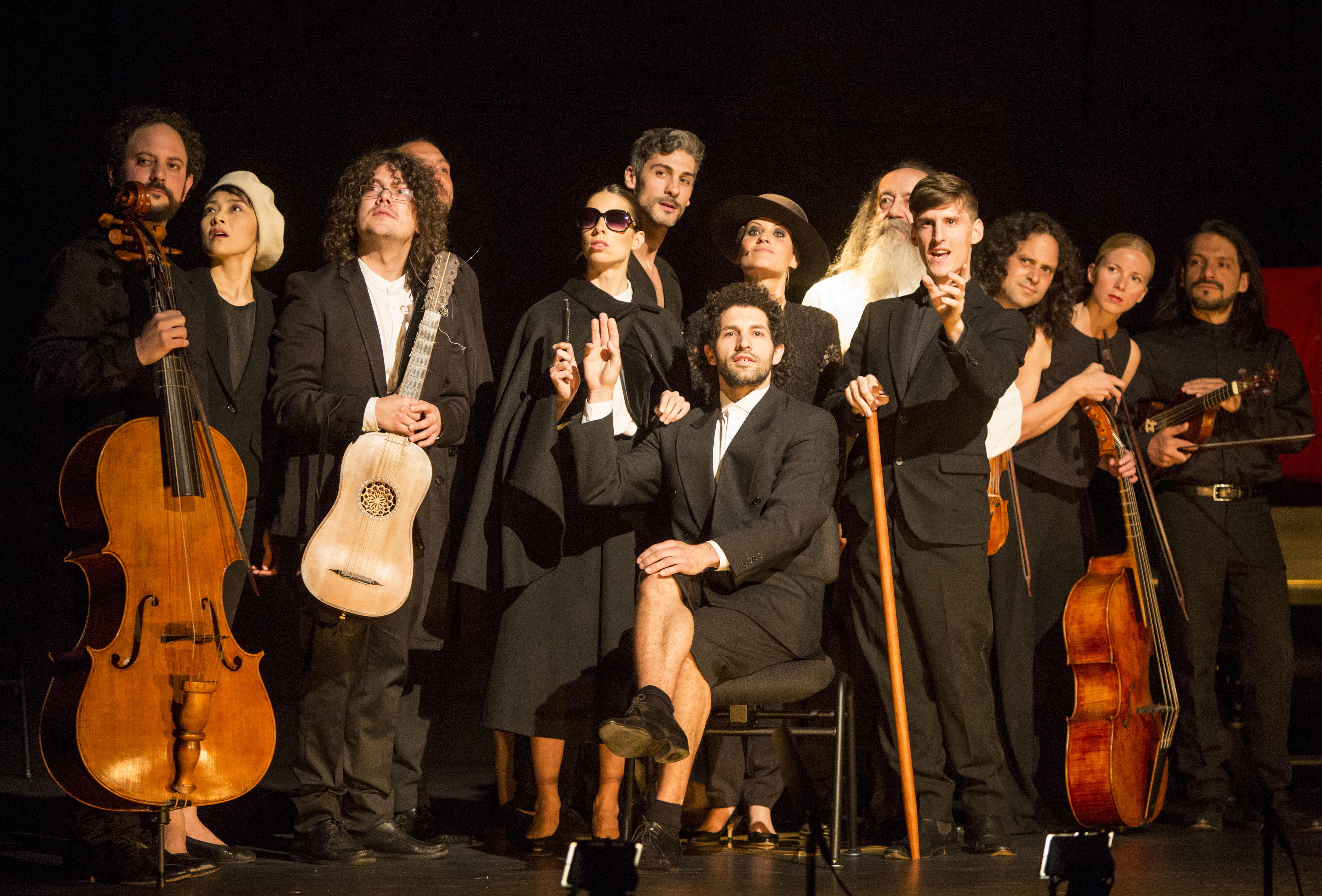 Estreno de 'À L'Espagnole, fantasía escénica' en el Festival de Granada