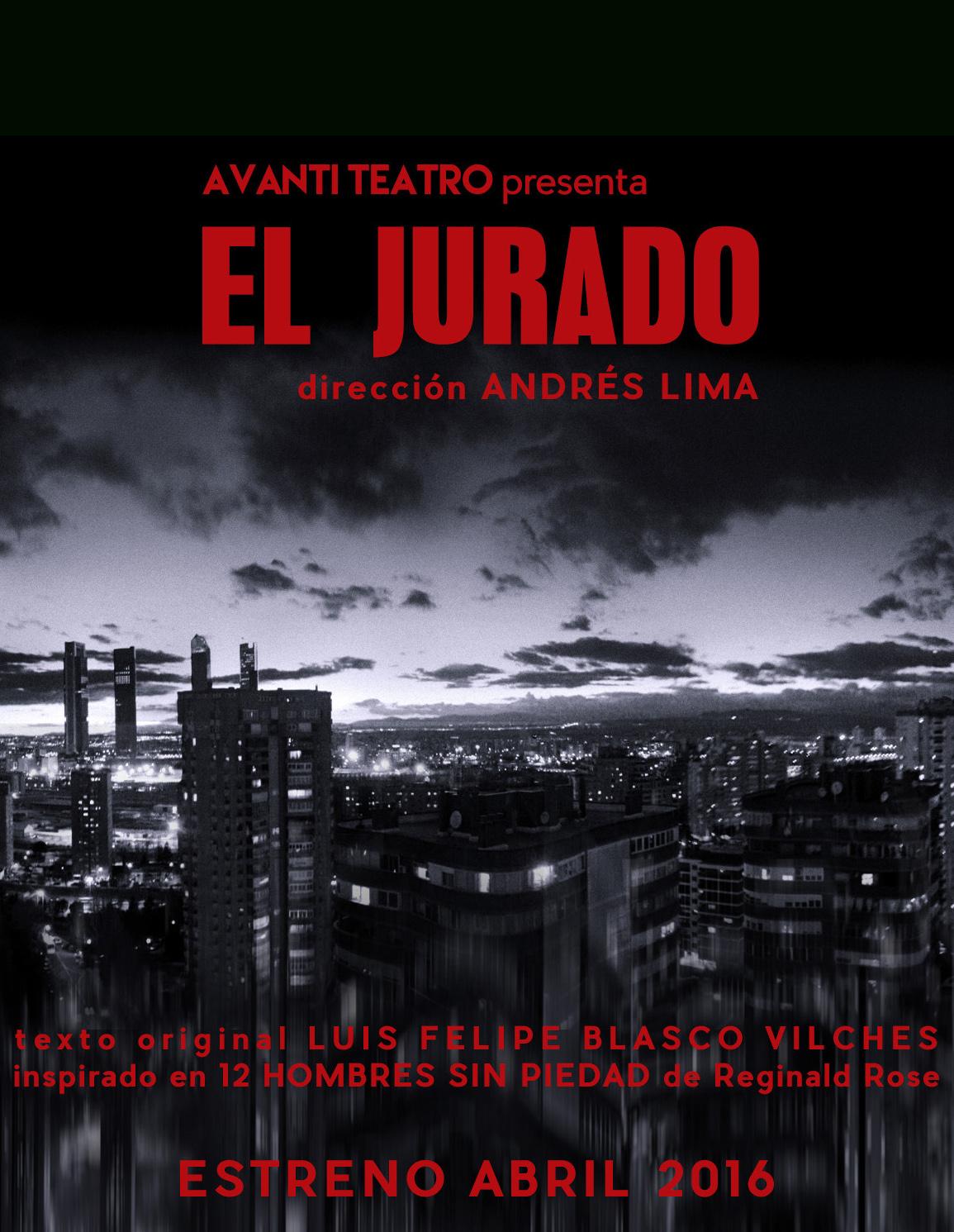 'El Jurado', nuevo espectáculo de Avanti Teatro