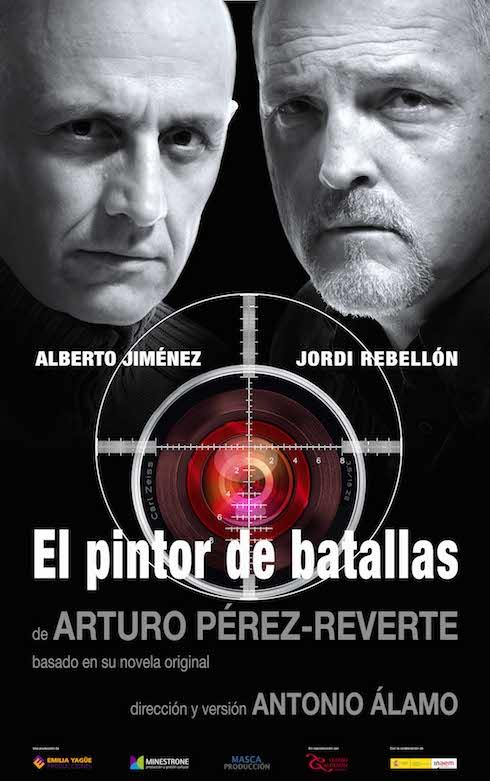 Antonio Álamo ensaya 'El pintor de batallas' de Pérez-Reverte