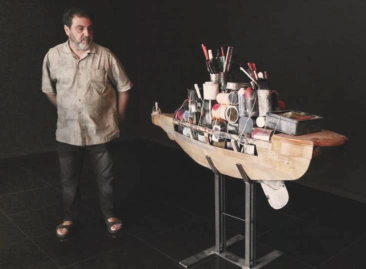 Ángel Haro se mete en la piel de 'El pintor de batallas'